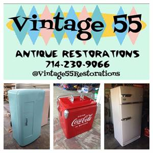 Vintage 55 Restorations: antique appliance restoration shop