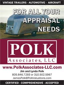 Appraisals and Insurance for your vintage trailer and classic car.