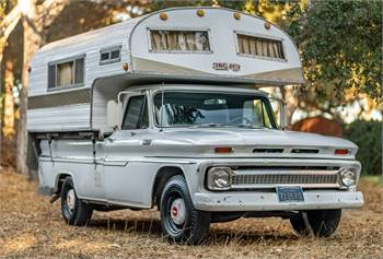 1965 Chevrolet C20 / Travel Queen Camper Original 1 owner Time Capsule