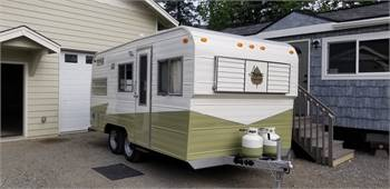 1977 19' Aspen Custom restoration