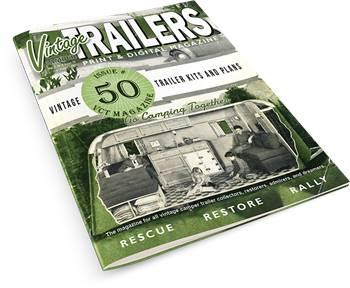 The Vintage Camper Trailers Magazine