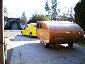 1946 Cabin Car Trailer