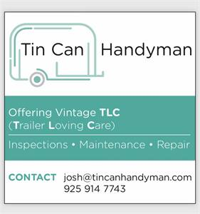 Tin Can Handyman - mobile camper trailer services