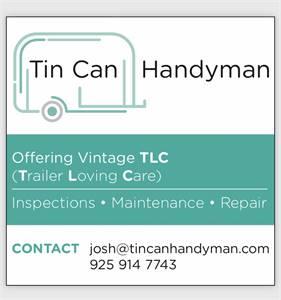 Tin Can Handyman - mobile camper trailer services