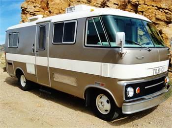 Restored 1974 Dodge Travco