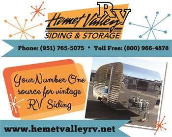 Hemet Valley RV Siding