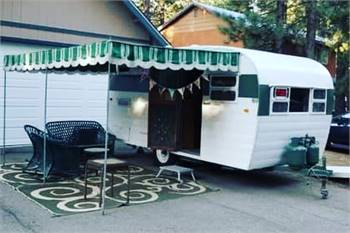 1955 King Travel trailer With rare original appliances!