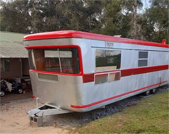 1955 SPARTAN DOUBLE ENDER ROYAL MANSION (extremely rare)