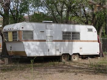 1965 Banner Home Corp 24ft trailer, needs full restoration, in Albuquerque, NM