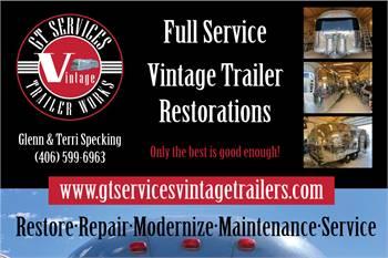 GT Services Vintage Trailer Restoration