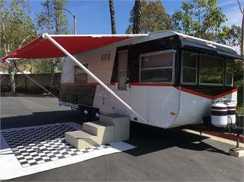 1972 Travel-Eze 24' Travel Trailer Updated inside and out $8,900