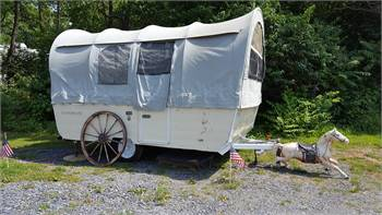 Mallard Camel Back Pop Up Camper 1962