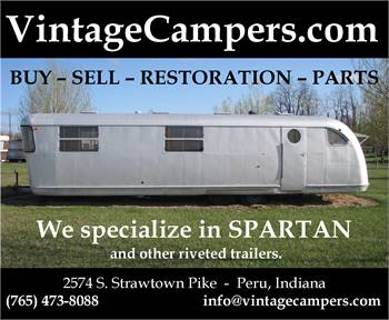 Spartan (and other riveted trailers) Parts