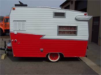 1971 Shasta Compact Travel Trailer