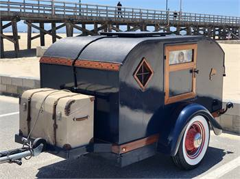 1938 Restored Vintage Teardrop Trailer