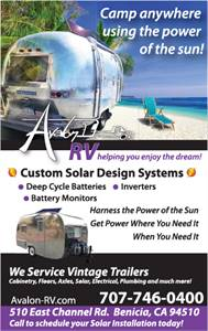 Avalon RV - Restorations, Airstreams, Solar