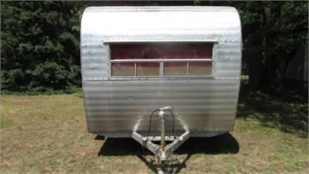 1959 Fan camper trailer