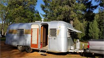 1964 Silver Streak, 24', original, pampered, a real beauty loved by our family
