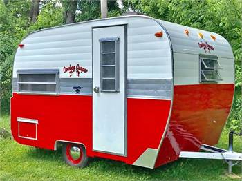 1966 Trotwood 10' Cowboy Camper