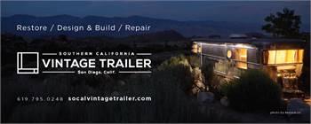 Southern California Vintage Trailer