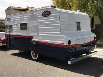 1963 Kenskill Trailer Vintage Mid-Century Icon - REDUCED