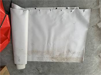 "EZ-Snap 80' gray 30"" skirting with install kit & storage bag"
