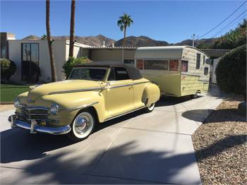 1948 Plymouth Deluxe Convertible