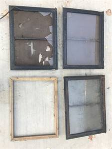 Windows- Used on 1940's trailers
