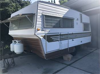 1965 Aristocrat Lo Liner Travel Trailer 15 ft