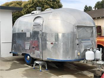 "1960 Airstream "" Footer"""