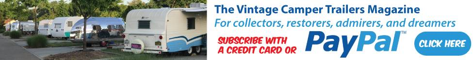 Subscribe to the Vintage Camper Trailers Magazine